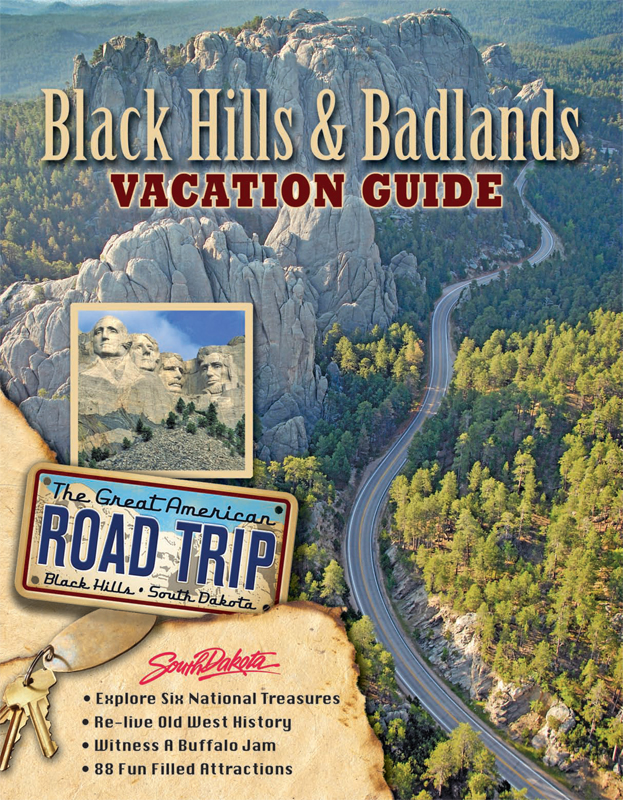 Laura and Paul – Black Hills Tourist Map